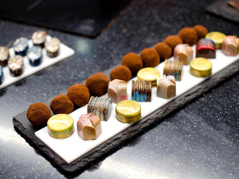 Мастер класс по шоколаду Эммануэля Амона