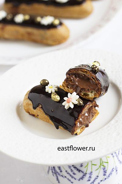 Шоколадные эклеры