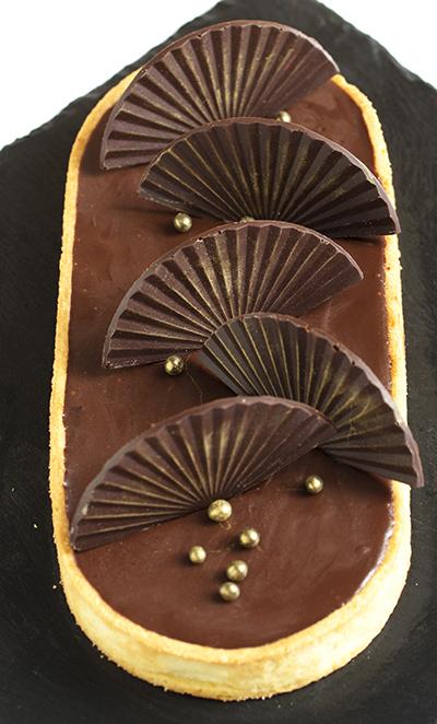 Шоколадный тарт (Chocolate tart)